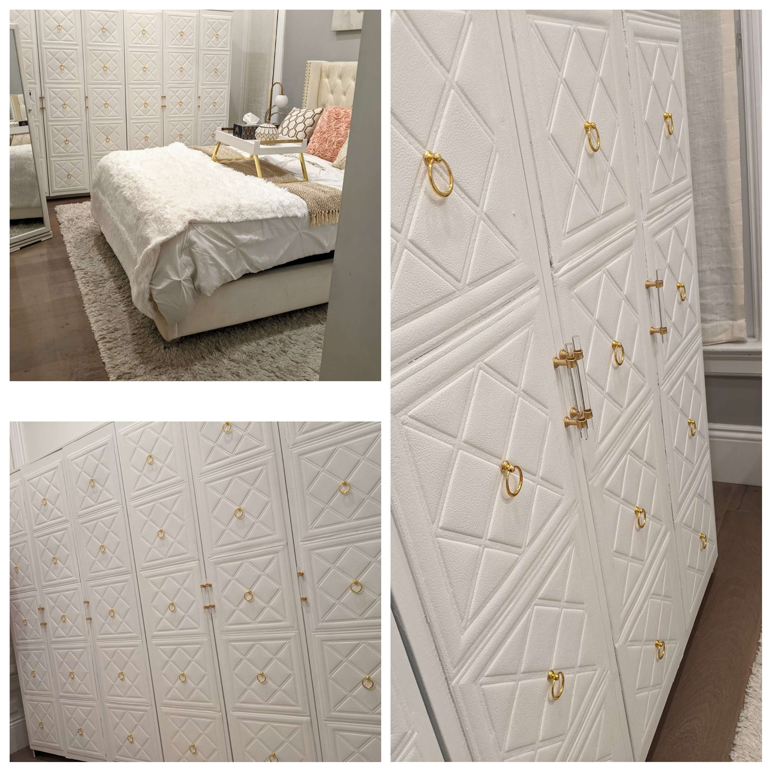 Beginner IKEA Wardrobe Makeover Hack From The Least DIY Person on Planet Earth